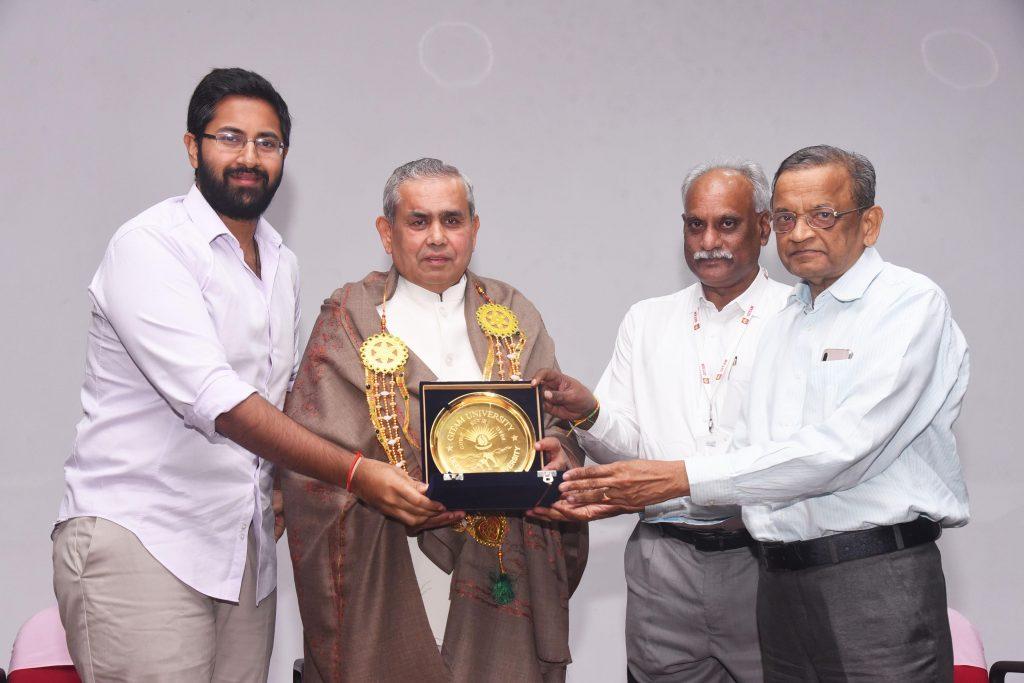 BK Mruthyunjaya invited by Gitam University in Visakhapatnam